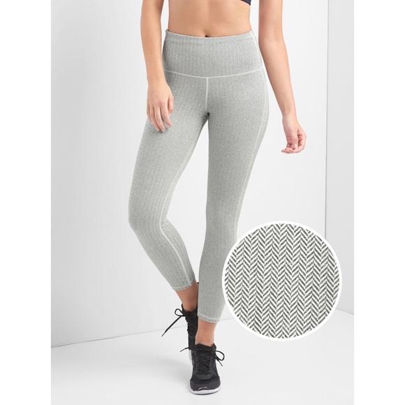 980bd61a8c GAP Pants | Fit Gfast High Rise Herringbone 78 Leggings | Poshmark